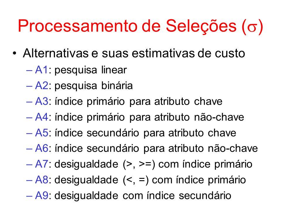Processamento de Seleções ()