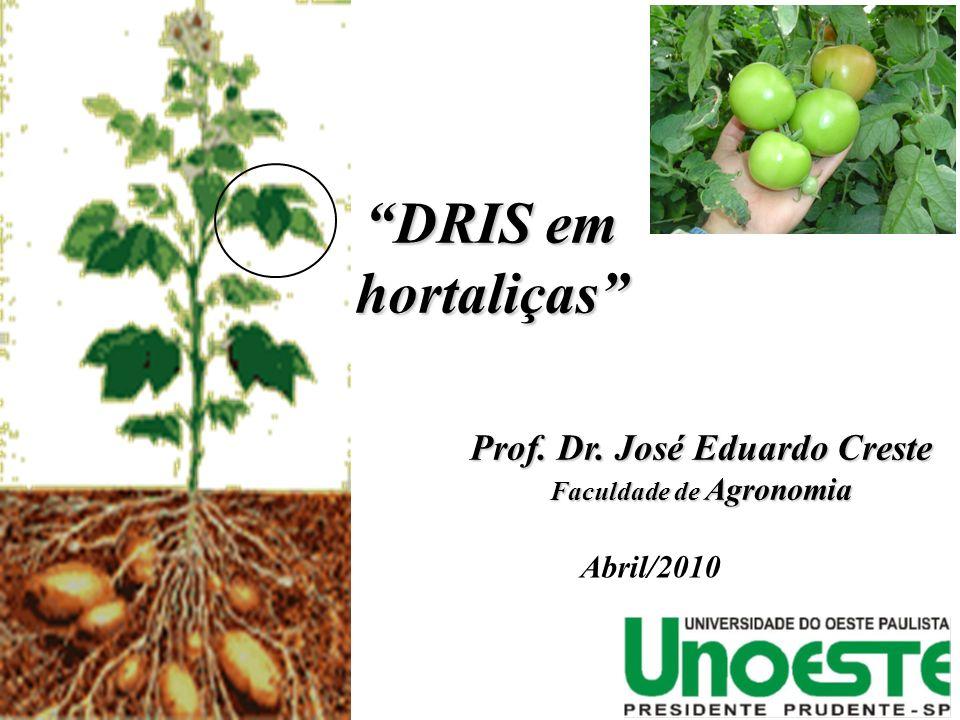 Prof. Dr. José Eduardo Creste Faculdade de Agronomia