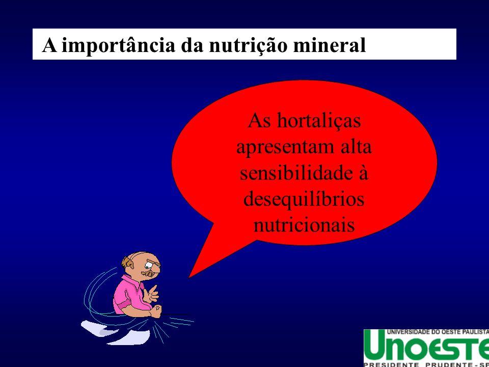 A importância da nutrição mineral