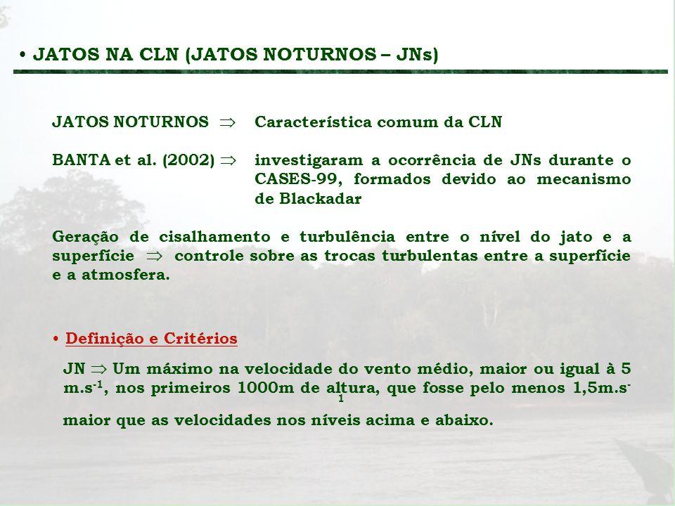 JATOS NA CLN (JATOS NOTURNOS – JNs)