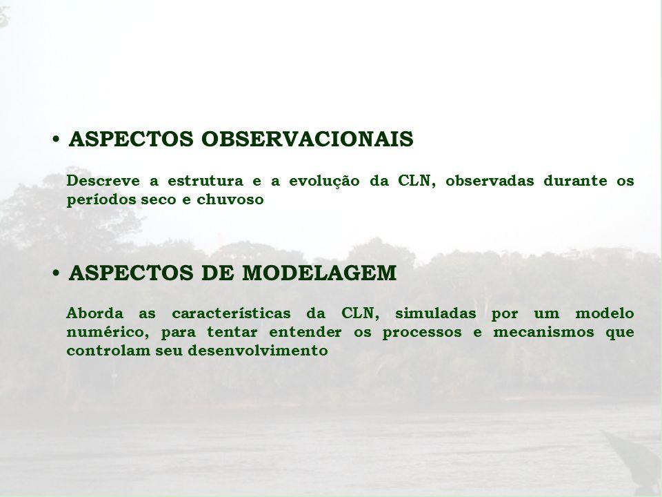 ASPECTOS OBSERVACIONAIS