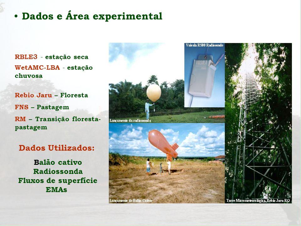 Dados e Área experimental