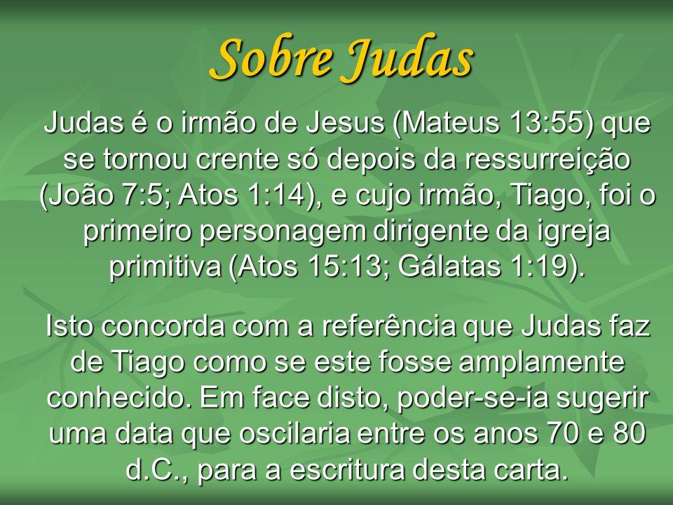 Sobre Judas