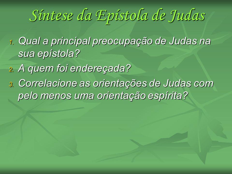 Síntese da Epístola de Judas