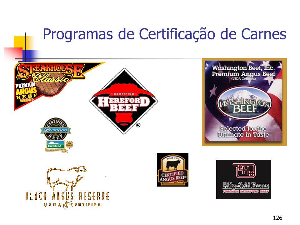 Programas de Certificação de Carnes
