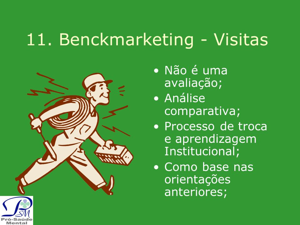 11. Benckmarketing - Visitas