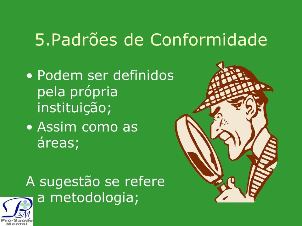 5.Padrões de Conformidade
