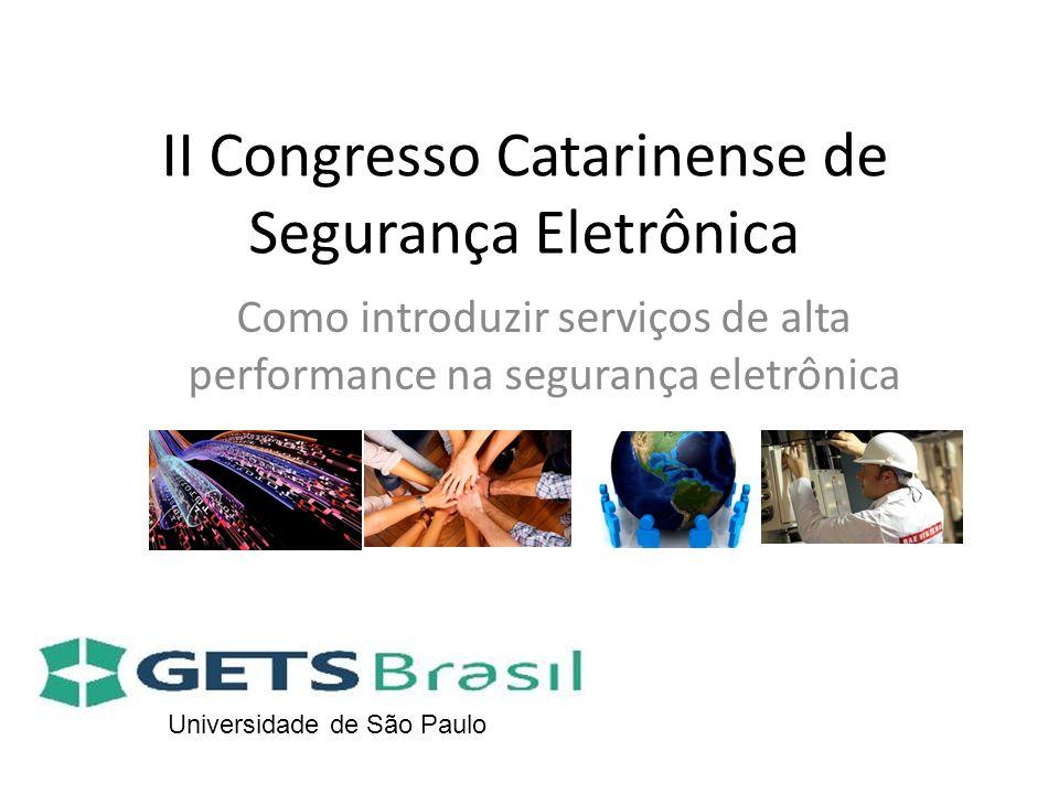 II Congresso Catarinense de Segurança Eletrônica
