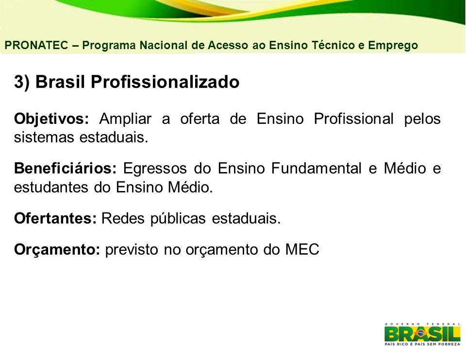 3) Brasil Profissionalizado