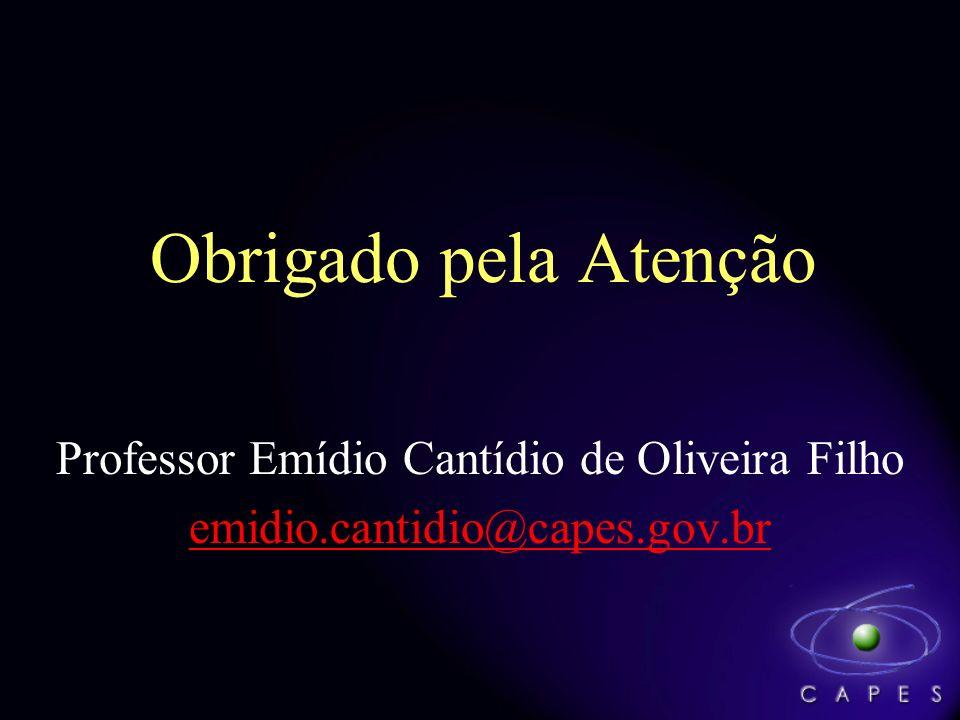Professor Emídio Cantídio de Oliveira Filho