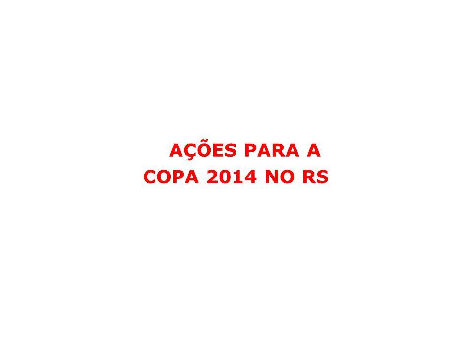 AÇÕES PARA A COPA 2014 NO RS
