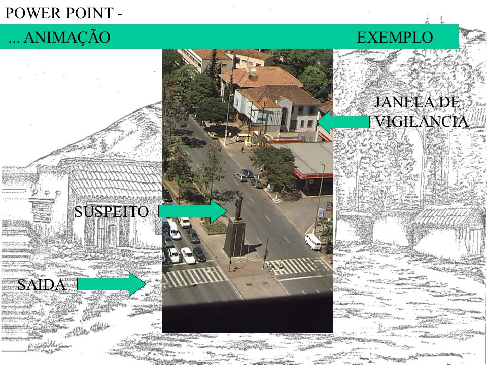 POWER POINT - ... ANIMAÇÃO EXEMPLO. JANELA DE VIGILANCIA.