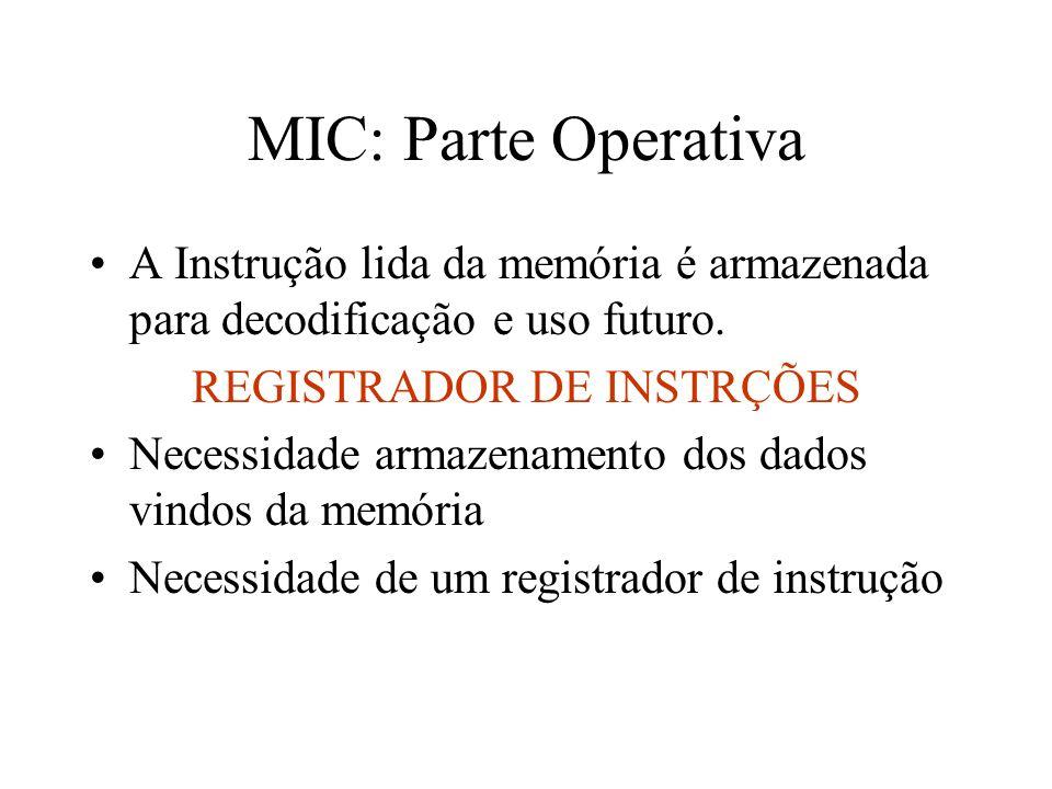 REGISTRADOR DE INSTRÇÕES