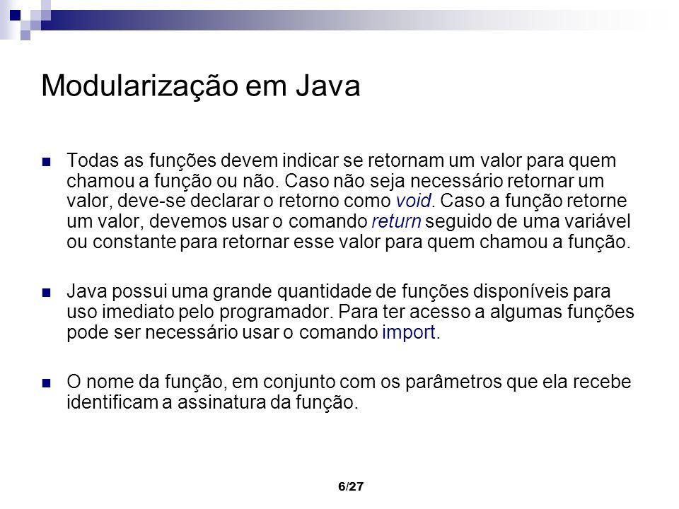 Modularização em Java