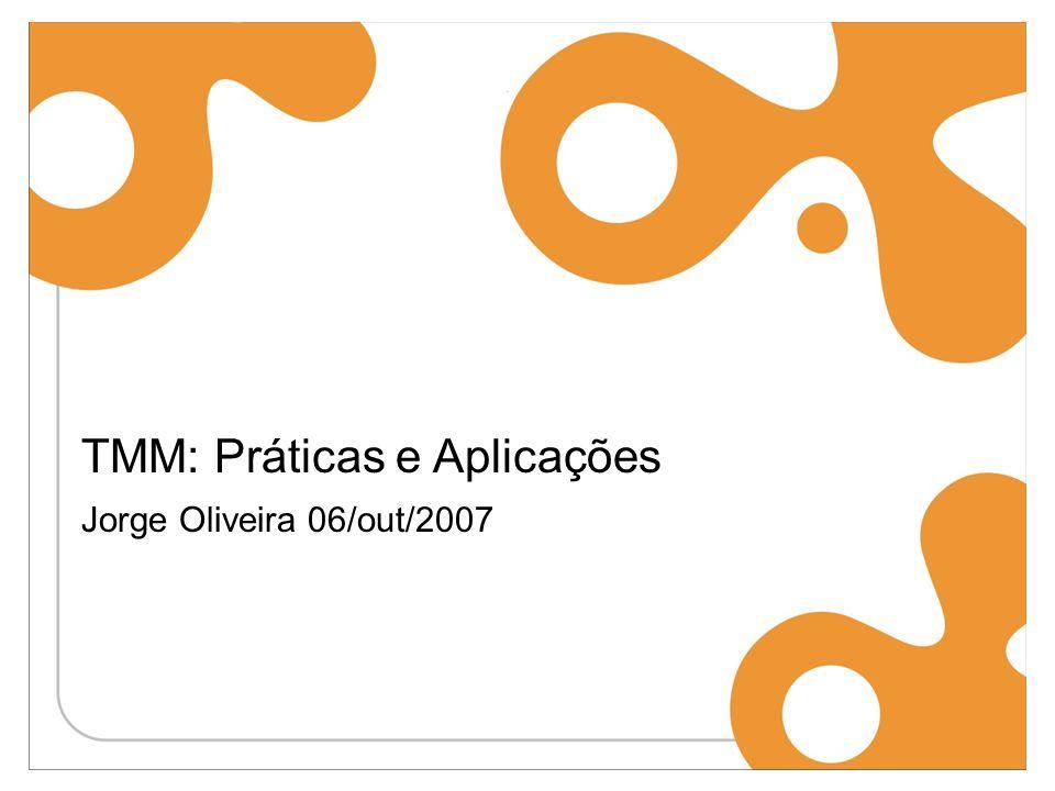 TMM: Práticas e Aplicações