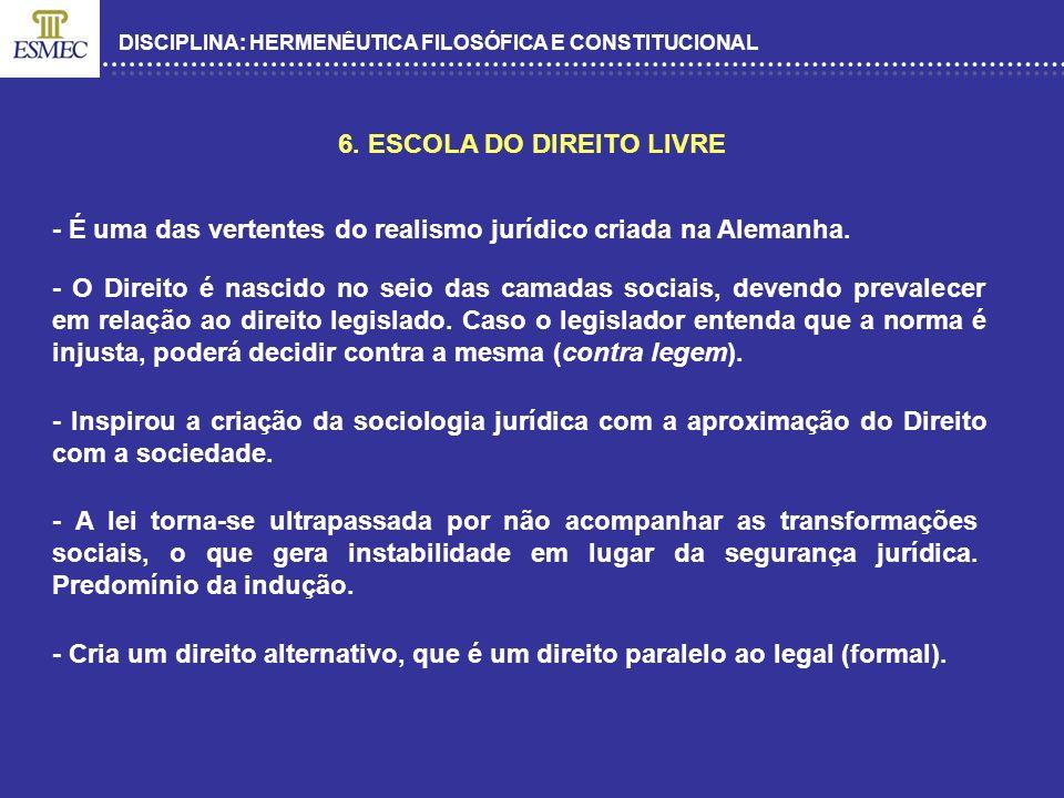 6. ESCOLA DO DIREITO LIVRE