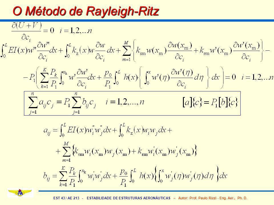 O Método de Rayleigh-Ritz