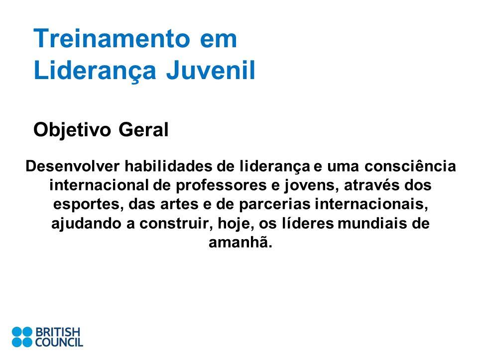 Treinamento em Liderança Juvenil Objetivo Geral