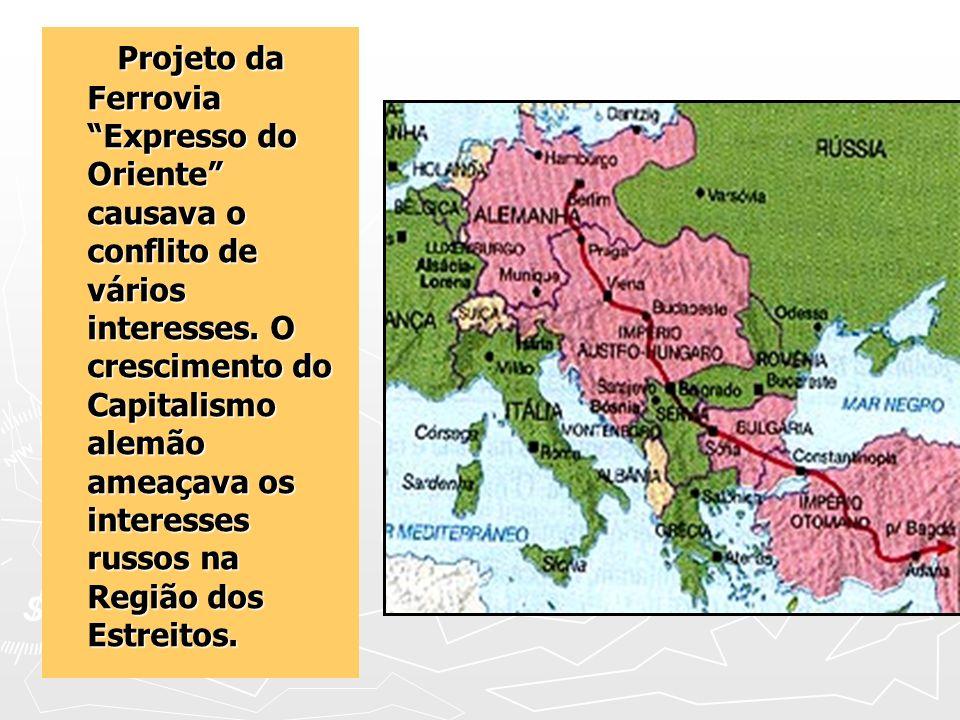Projeto da Ferrovia Expresso do Oriente causava o conflito de vários interesses.