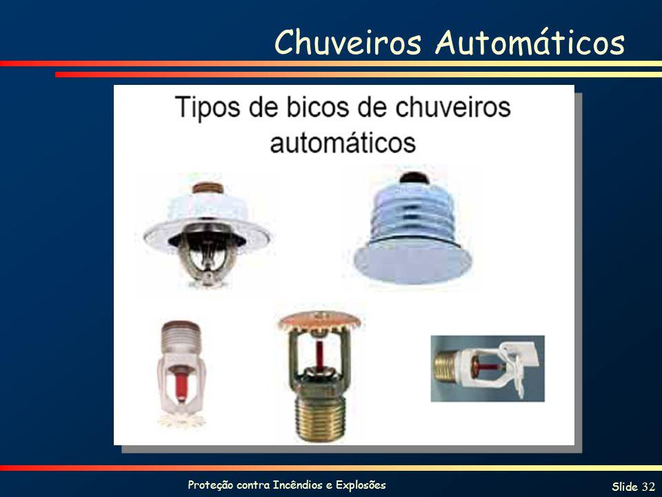 Chuveiros Automáticos