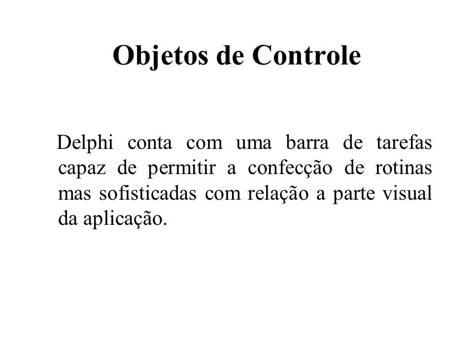 Objetos de Controle