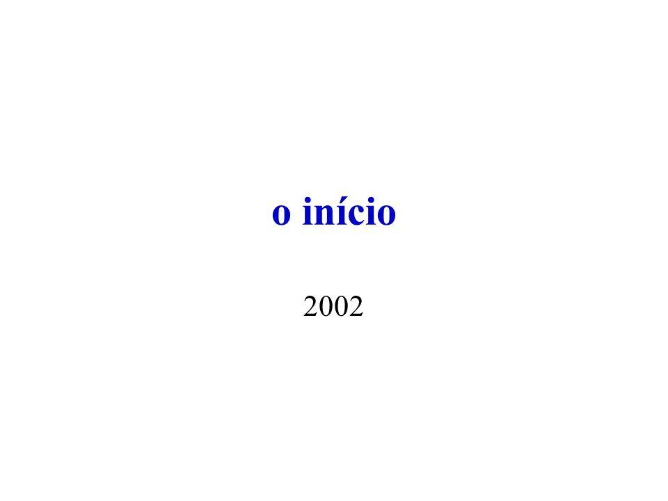 o início 2002