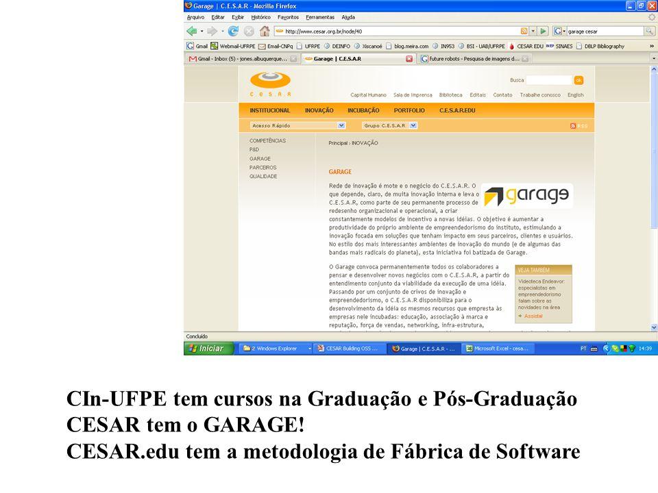 CIn-UFPE tem cursos na Graduação e Pós-Graduação