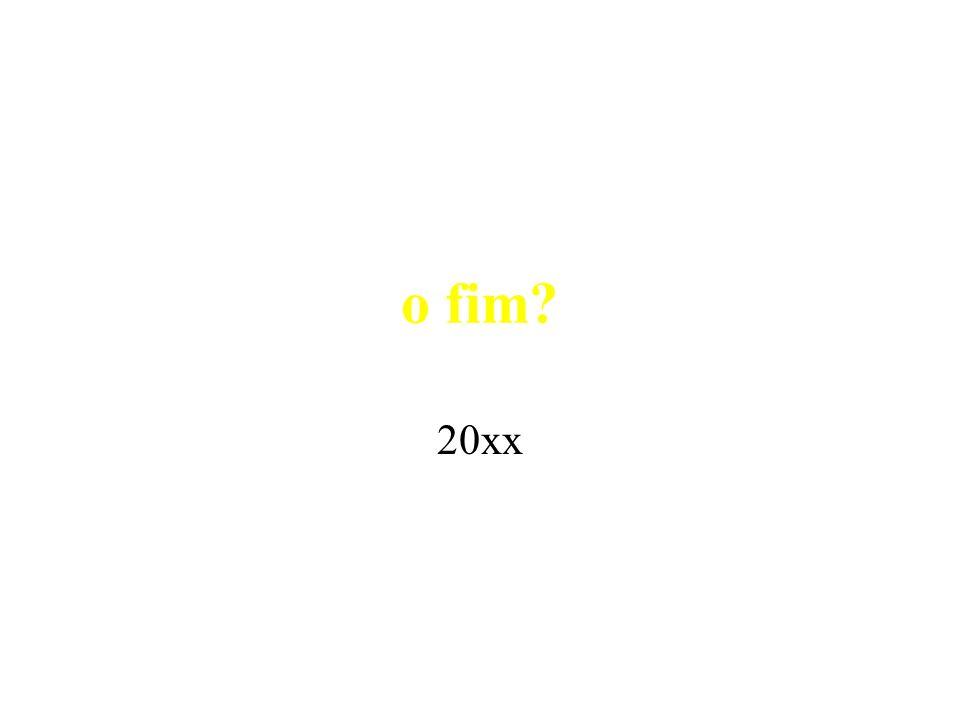 o fim 20xx