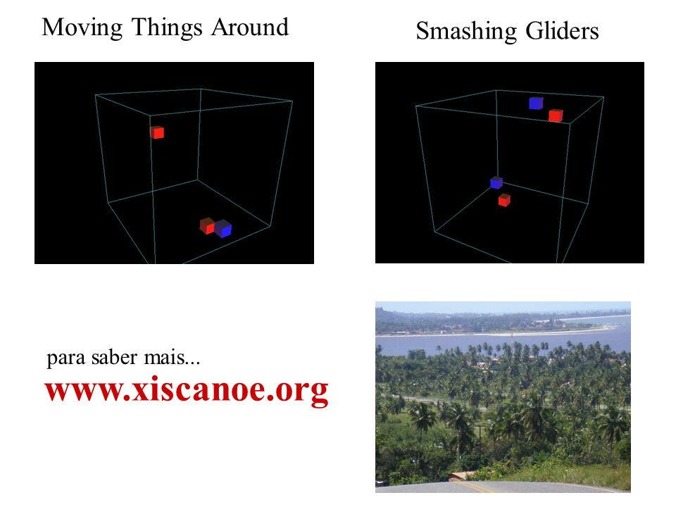 www.xiscanoe.org Moving Things Around Smashing Gliders