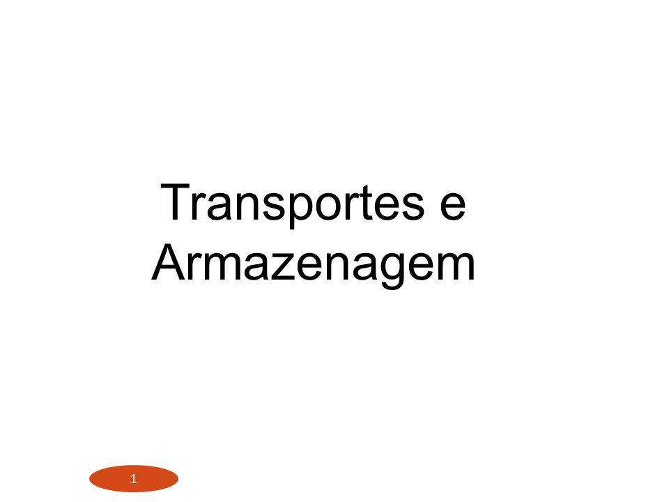 Transportes e Armazenagem