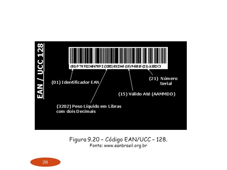 Figura 9.20 – Código EAN/UCC – 128.