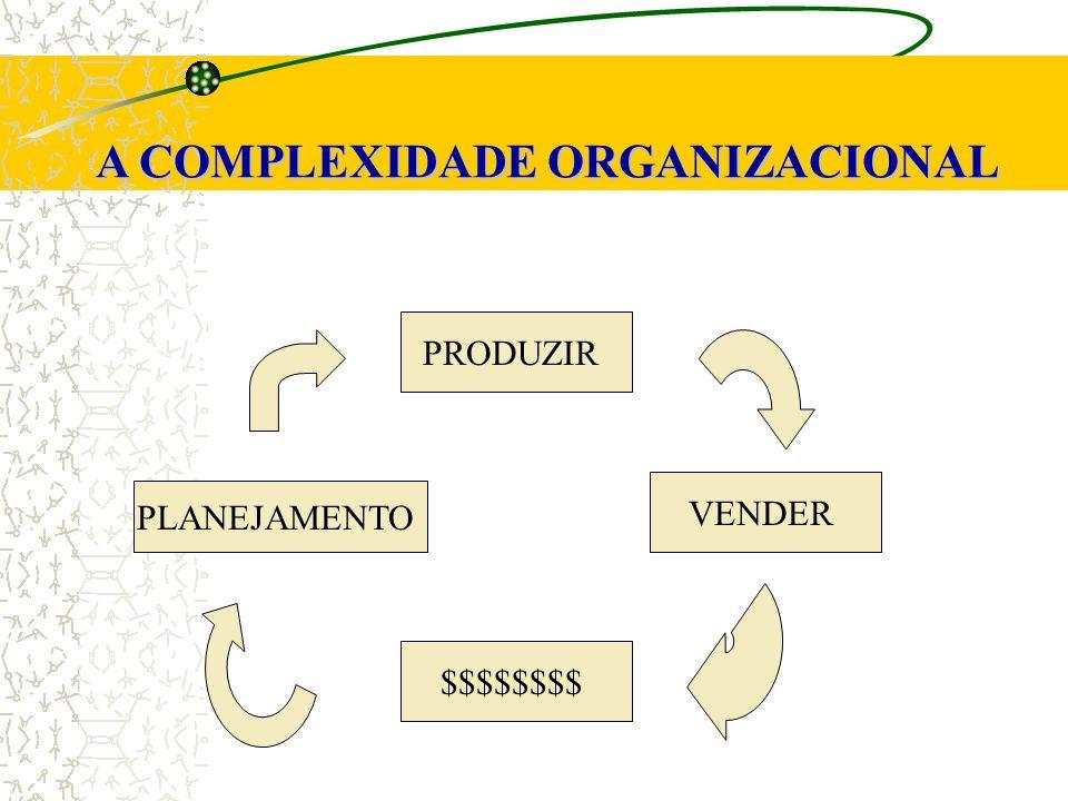 A COMPLEXIDADE ORGANIZACIONAL