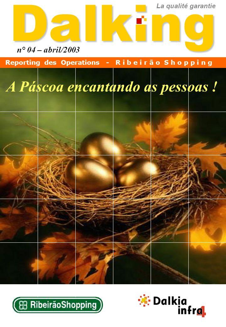 Dalking A Páscoa encantando as pessoas ! n° 04 – abril/2003