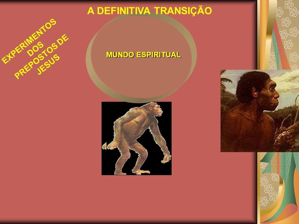 A DEFINITIVA TRANSIÇÃO EXPERIMENTOS DOS PREPOSTOS DE JESUS