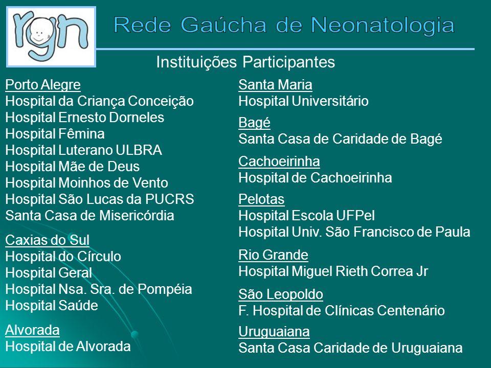 Instituições Participantes