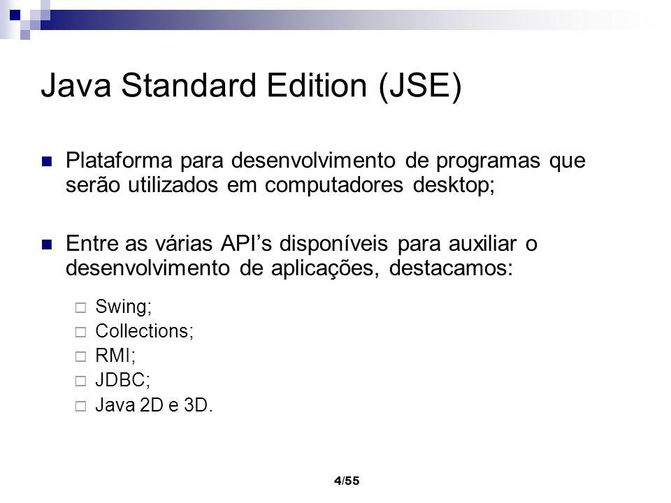 Java Standard Edition (JSE)