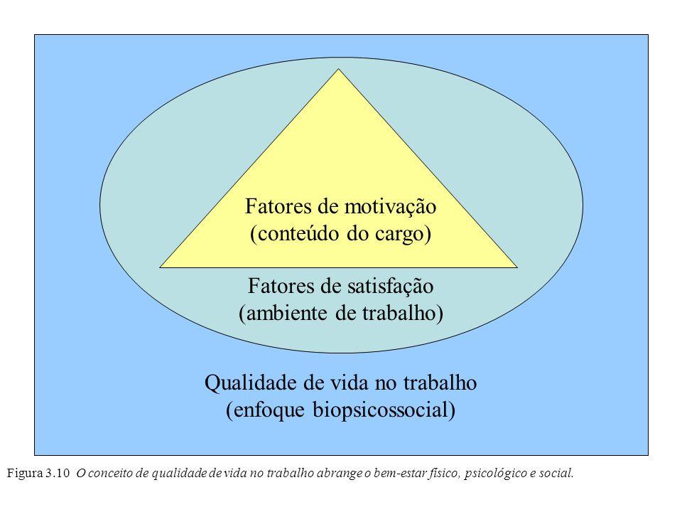 Qualidade de vida no trabalho (enfoque biopsicossocial)