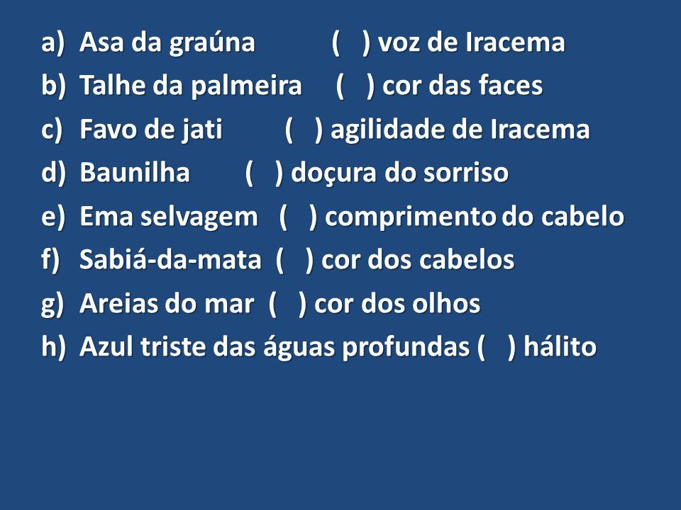 Asa da graúna ( ) voz de Iracema