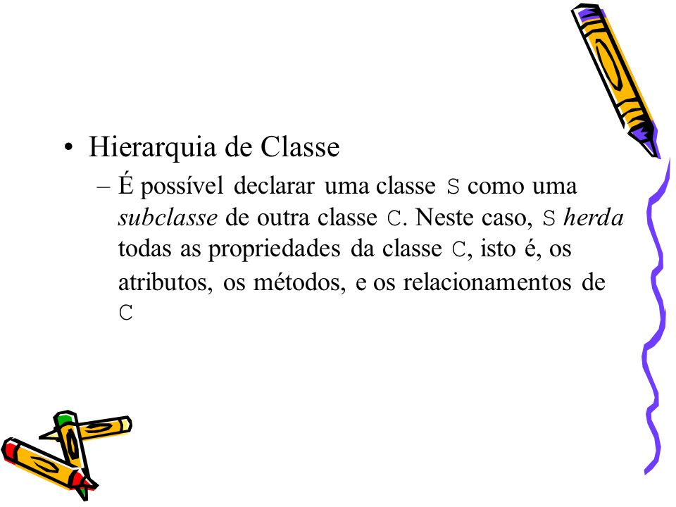 Hierarquia de Classe