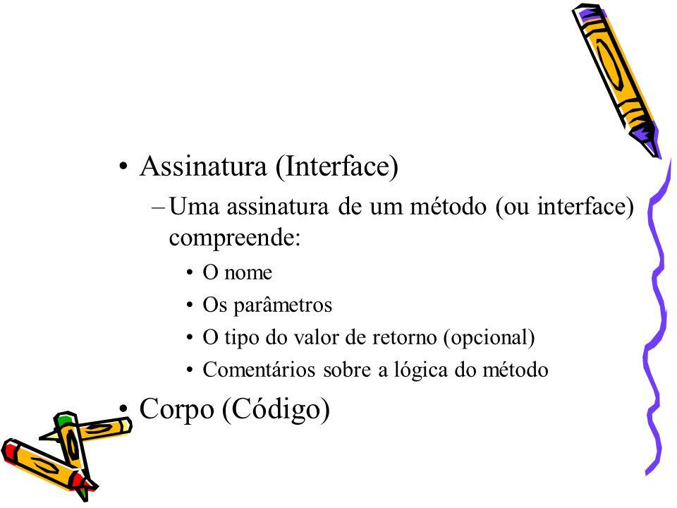 Assinatura (Interface)