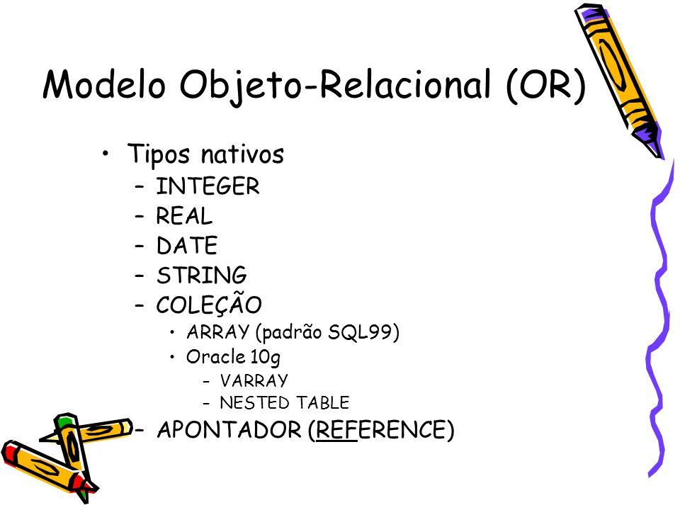 Modelo Objeto-Relacional (OR)