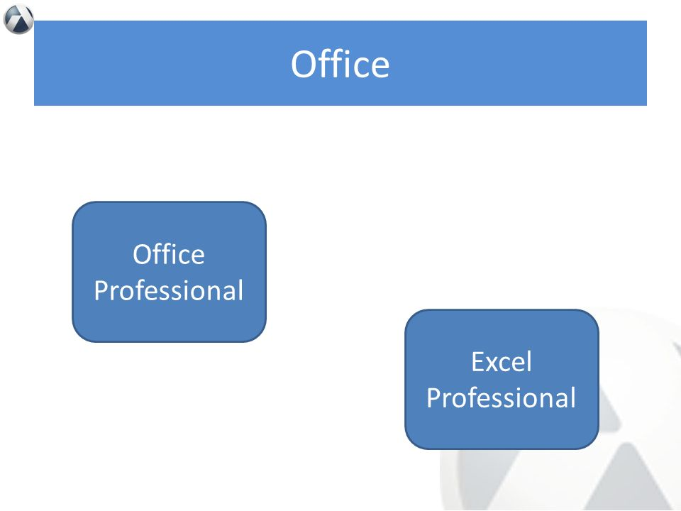 Office Office Professional Excel Professional