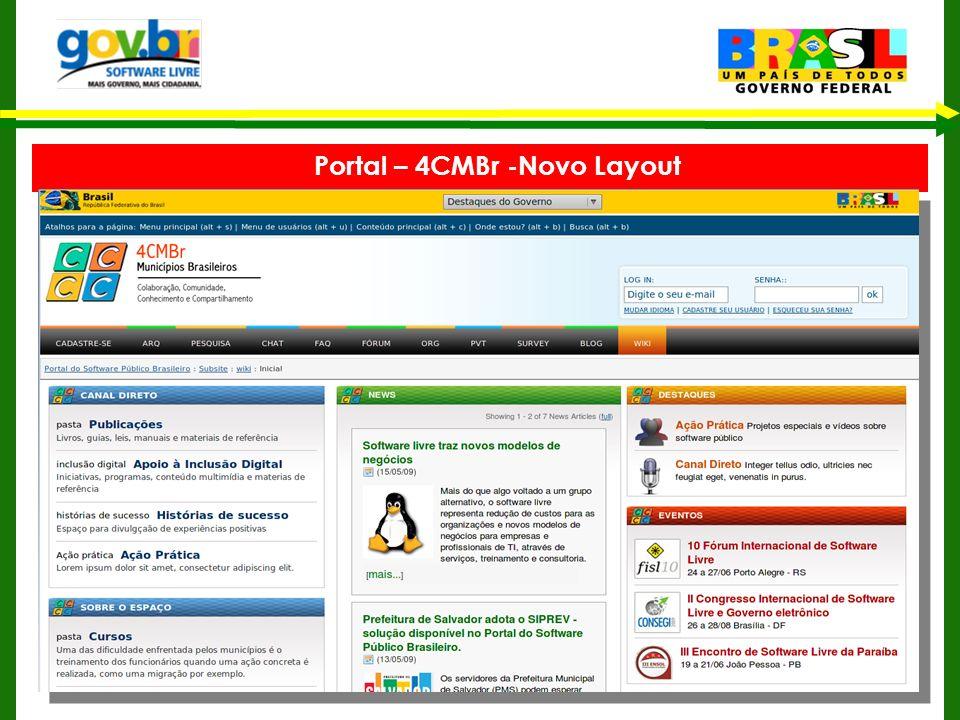 Portal – 4CMBr -Novo Layout