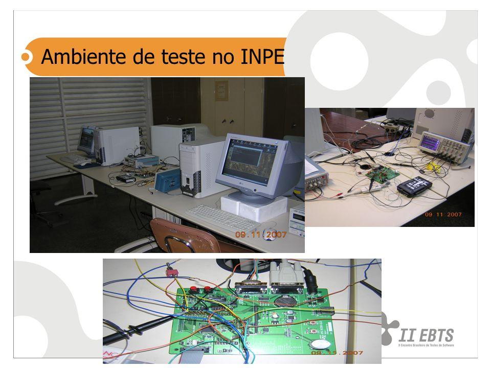 Ambiente de teste no INPE