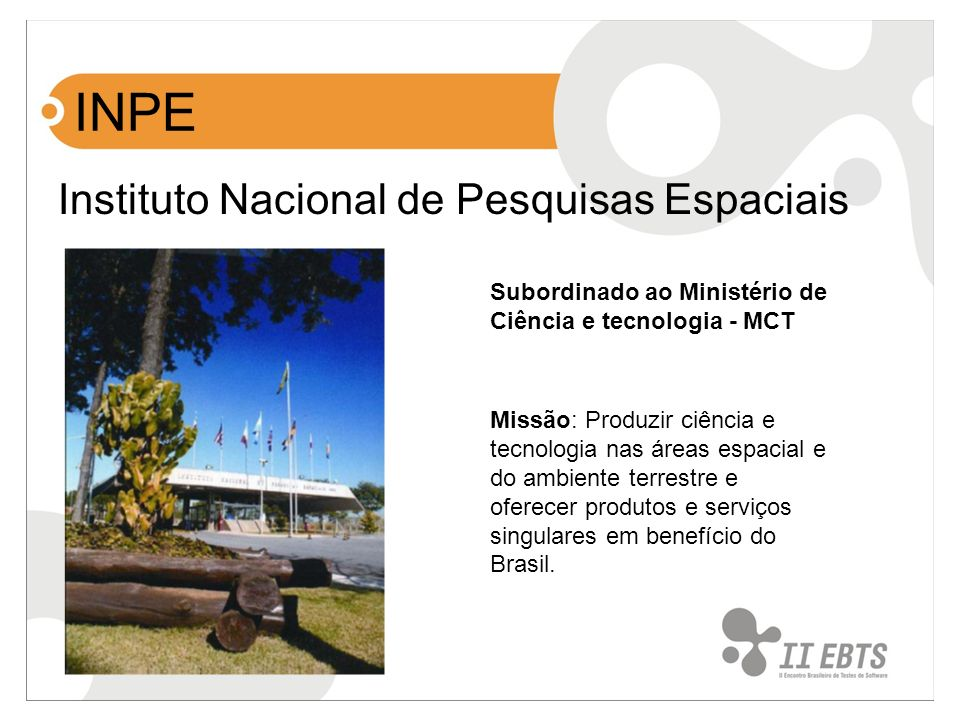 INPE Instituto Nacional de Pesquisas Espaciais