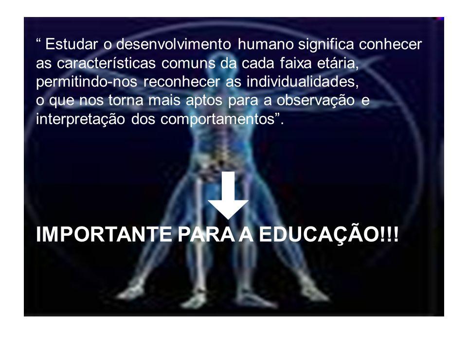 IMPORTANTE PARA A EDUCAÇÃO!!!