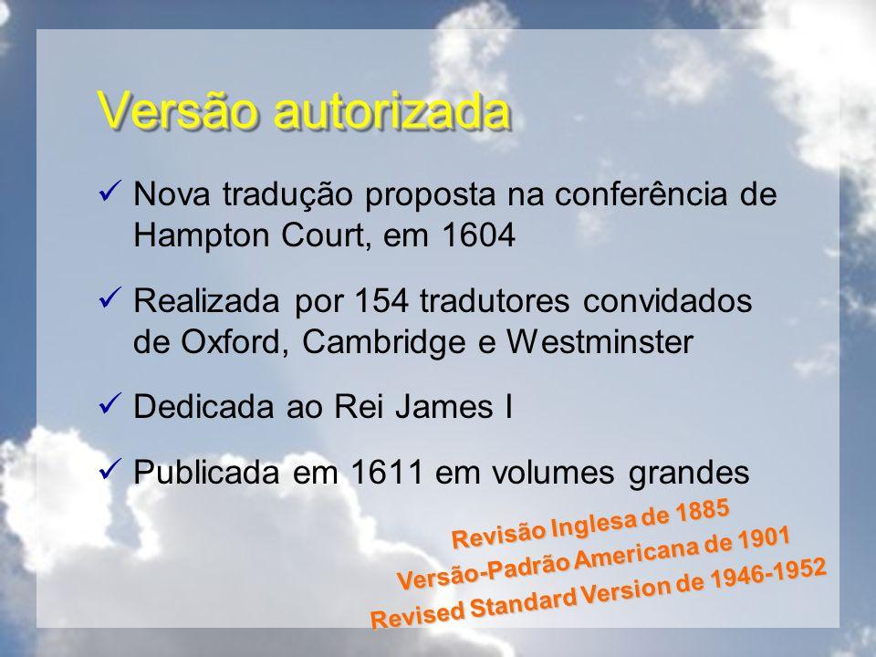Versão-Padrão Americana de 1901 Revised Standard Version de 1946-1952