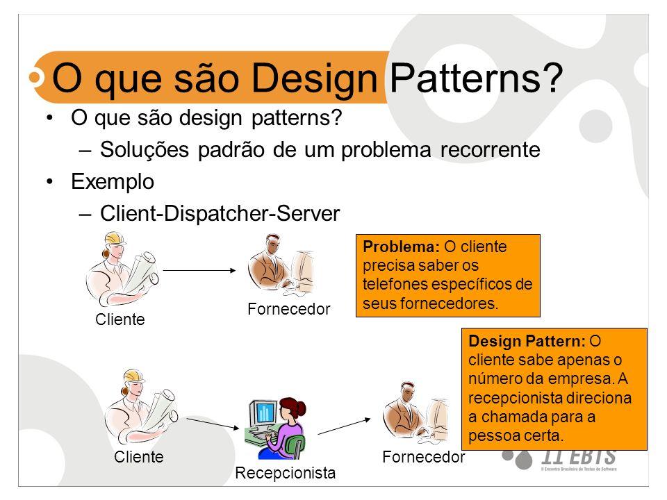 O que são Design Patterns