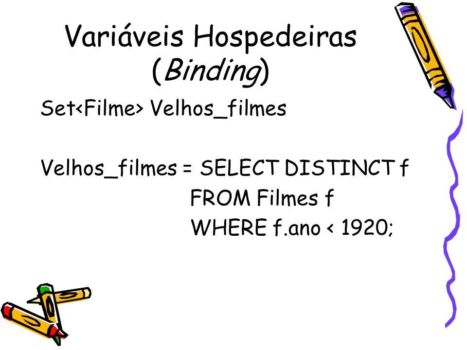 Variáveis Hospedeiras (Binding)
