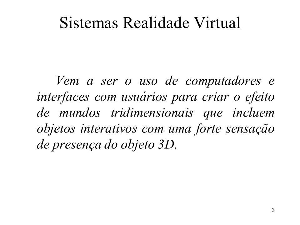 Sistemas Realidade Virtual